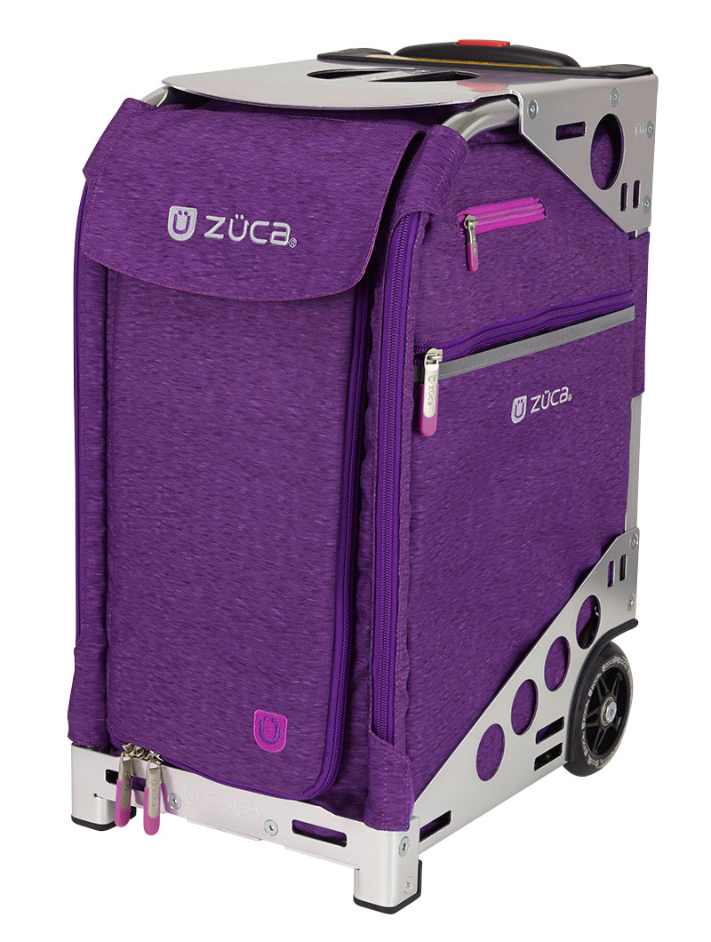 Сумка ZUCA Pro Heather Plum Silver